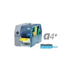 IMPRIMANTE CAB A4+ / 300 DPI REF 5954501 - THERMIQUE+TRANSFERT THERMIQUE AVEC SON LOGICIEL CABLABEL LITE