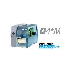 IMPRIMANTE CAB A4+ M / 300 DPI - THERMIQUE+TRANSFERT THERMIQUE AVEC SON LOGICIEL CABLABEL LITE