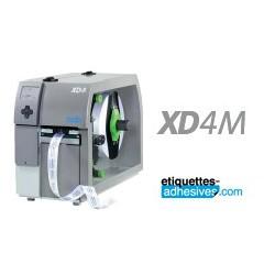 IMPRIMANTE CAB A4+ XD4 300M  300 DPI  RECTO VERSO - THERMIQUE+TRANSFERT THERMIQUE AVEC SON LOGICIEL CABLABEL LITE
