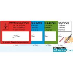 Etiquette Pharmacie 45x60