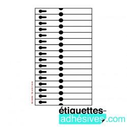 ETIQ/A4 210X19 - 16X1 CRAVATES