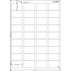 A4 45x30 Polyester Transparent Mat